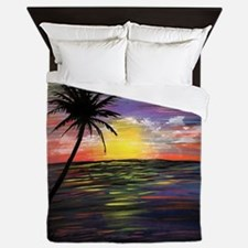 Sunset Sea Queen Duvet