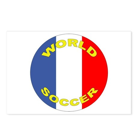 France World Cup Soccer Postcards (Package of 8)