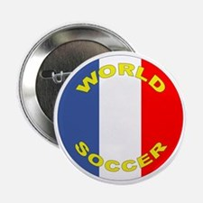 France World Cup Soccer Button