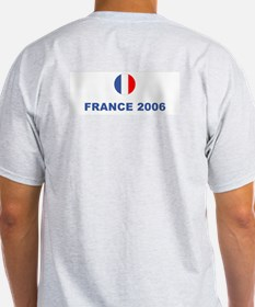 France World Cup Soccer Ash Grey T-Shirt