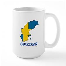 Large Sweden Mug
