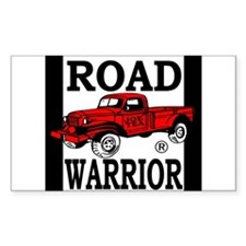 Road Warrior Rectangle Decal
