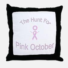 Pink Ribbon Pillow
