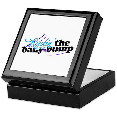 Rockin the baby bump Keepsake Box