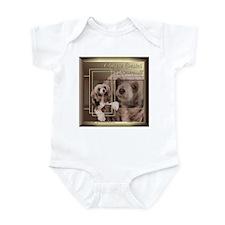 Chinese Crested Sheeba Golden Infant Bodysuit