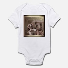 Chinese Crested Sheeba Golden Infant Bodysuit