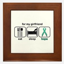 Girlfriend ESHope Ovarian Framed Tile