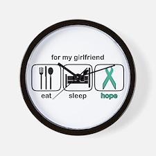 Girlfriend ESHope Ovarian Wall Clock