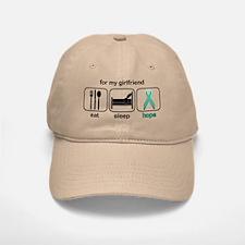 Girlfriend ESHope Ovarian Baseball Baseball Cap