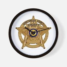 Spartanburg Sheriff Wall Clock