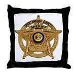 Spartanburg Sheriff Throw Pillow