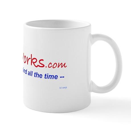Satire Works Mug