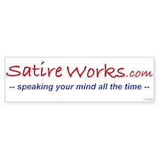 Satire Works Bumper Sticker