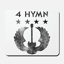 4 Hymn Tour Shirt Mousepad