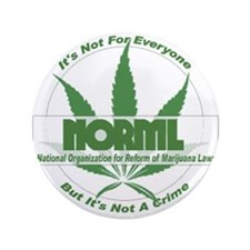 "Unique Norml 3.5"" Button (100 pack)"