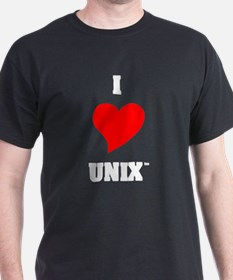 Unix Lovers Black/T-Shirt