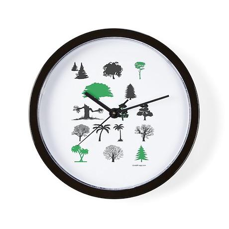 oddFrogg Tree Lovers Wall Clock