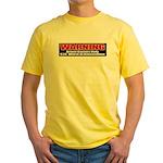 $20. Worth of Ammo Yellow T-Shirt