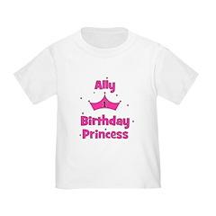 1st Birthday Princess Ally! T