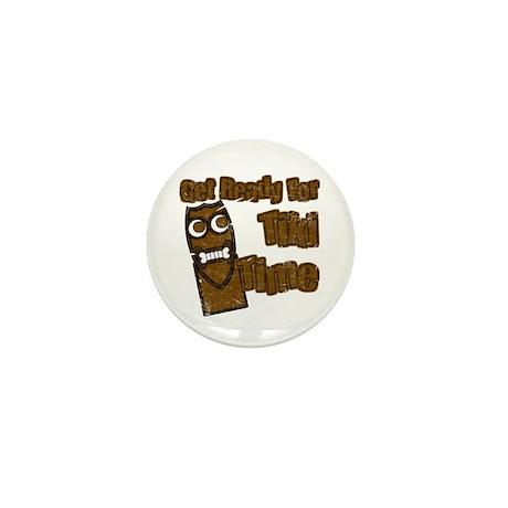 Tiki Time! Mini Button