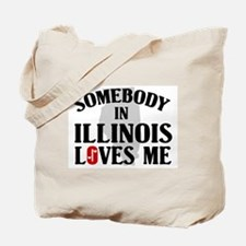 Somebody In Illinois Tote Bag