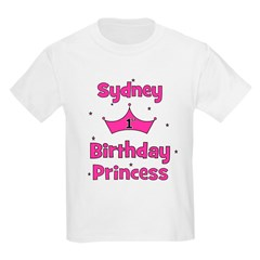 1st Birthday Princess Sydney! T-Shirt