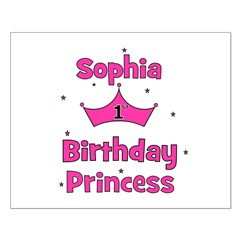 1st Birthday Princess Sophia! Posters