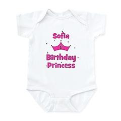 1st Birthday Princess Sofia! Infant Bodysuit