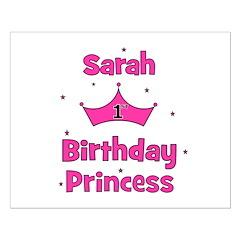 1st Birthday Princess Sarah! Posters