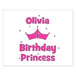 1st Birthday Princess Olivia! Small Poster
