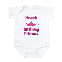 1st Birthday Princess Nevaeh! Infant Bodysuit
