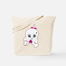 Baby Skull and Crossbones Tote Bag