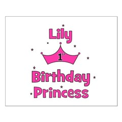 1st Birthday Princess Lily! Posters