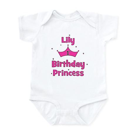 1st Birthday Princess Lily! Infant Bodysuit