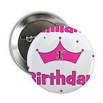 1st Birthday Princess Lillian 2.25