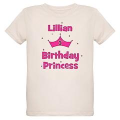 1st Birthday Princess Lillian T-Shirt
