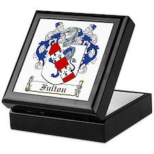 Fulton Coat of Arms Keepsake Box