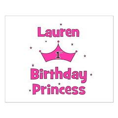 1st Birthday Princess Lauren! Posters