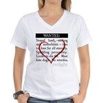 Twilight Wanted Women's V-Neck T-Shirt