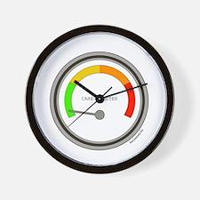 Care-O-Meter Wall Clock