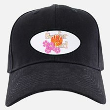 Little Surfer Girl Baseball Hat
