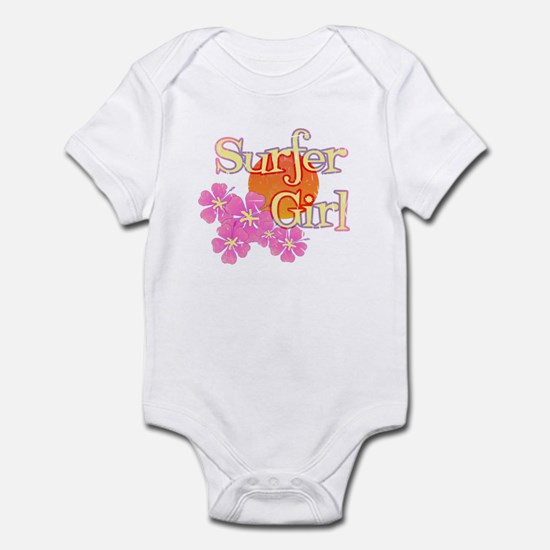 Little Surfer Girl Infant Bodysuit