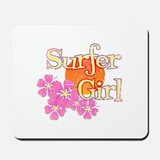 Little Surfer Girl Mousepad