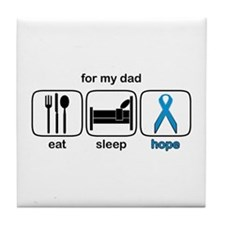 Dad ESHope Prostate Note Cards (Pk of 10 Tile Coas