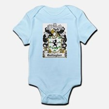 Gallagher Coat of Arms Infant Creeper