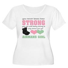 Airforce girlfriend T-Shirt