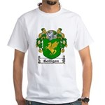 Galligan Coat of Arms White T-Shirt