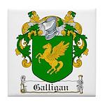 Galligan Coat of Arms Tile Coaster