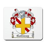 Gallway Coat of Arms Mousepad