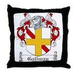 Gallway Coat of Arms Throw Pillow